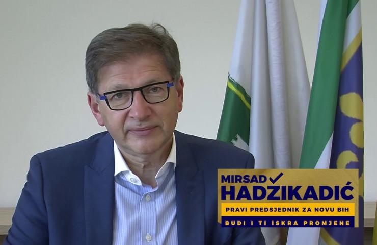 Direktno obraćanje Mirsada Hadžikadića biračima