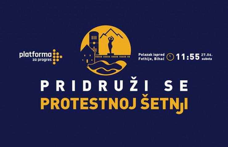 Mirna protestna šetnja  27.juna u Bihaću!