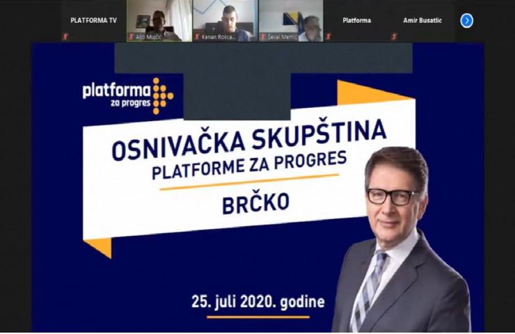 Elektronskim putem održana Osnivačka skupština Platforme za progres Brčko!